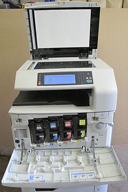 Hp Color Laserjet Cm6040f Mfp Copier Print Fax Scan